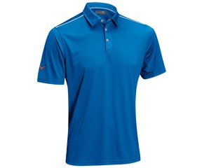 Mizuno Mens Flat Knit Polo Shirt
