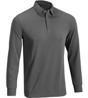 Mizuno Mens Breath Thermo Long Sleeve Polo Shirt