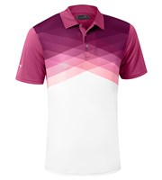 Mizuno Mens X-Tint Argyle Polo Shirt