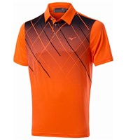 Mizuno Mens Sublimation Polo Shirt
