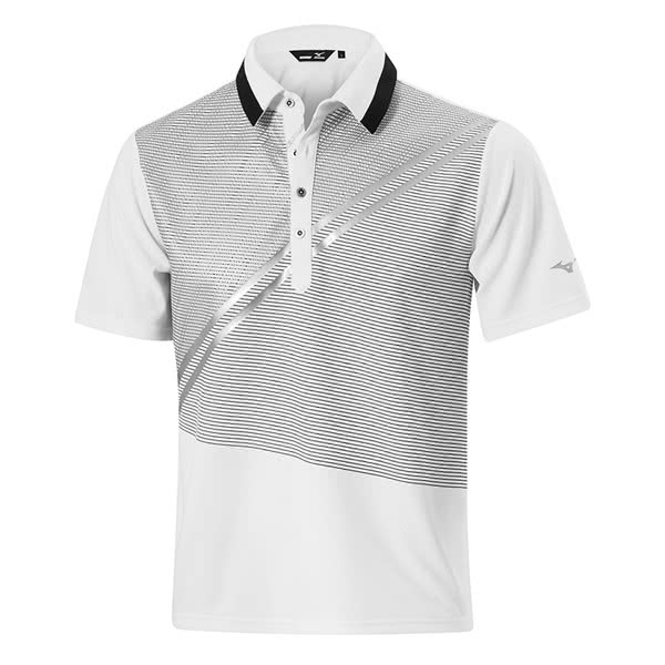 d5a4b25b Mizuno Mens Solar Cut Print Polo Shirt. Double tap to zoom. 1 ...