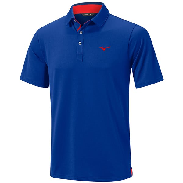 Mizuno Mens Quick Dry Polo Shirt