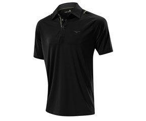 Mizuno Mens Flat Knit Laser Golf Polo Shirt 2014