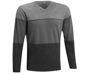 Mizuno Mens Lightweight Stripe Sweater