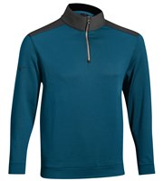 Mizuno Mens Thermosuede Quarter Zip Top
