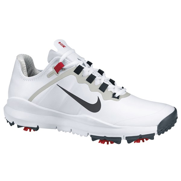 Nike Mens TW 13 Golf Shoes (White/Anthracite) 2012