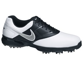 Nike Mens Heritage III Golf Shoes  White/Black