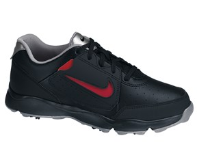 Nike Junior Remix II Golf Shoes  Black/Silver