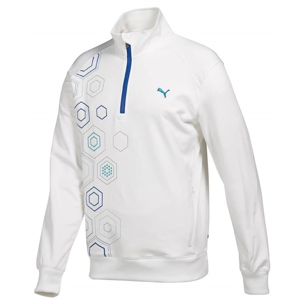 Puma Golf Mens 1/4 Zip Fleece Top