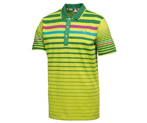 Puma Golf Boys Stripe Polo Shirt