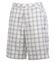 Puma Golf Mens Plaid Tech Shorts