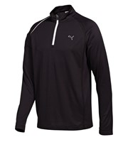 Puma Golf Mens 1/4 Zip Long Sleeve Polo Shirt