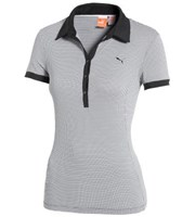 Puma Golf Ladies D2 Pattern Printed Polo Shirt