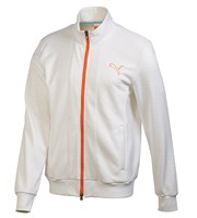 Puma Golf Mens Knit Stripe Jacket