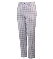 Puma Golf Mens 5 Pocket Tech Plaid Trousers
