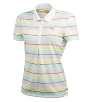 Puma Golf Ladies Roadmap Stripe Polo Shirt