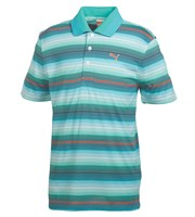 Puma Golf Mens Road Map Stripe Golf Polo Shirt 2014