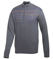Puma Golf Mens 1/4 Zip Novelty Sweater