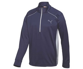Puma Golf Mens Essential Popover Golf Shirt 2015