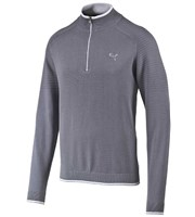 Puma Golf Mens Quarter Zip Sweater 2015