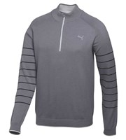 Puma Golf Mens Quarter Zip Novelty Sweater 2015