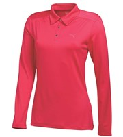 Puma Golf Ladies Long Sleeve Polo Shirt 2015