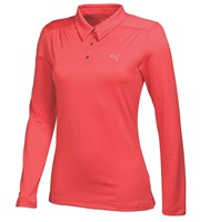 Puma Golf Ladies Long Sleeve Polo Shirt