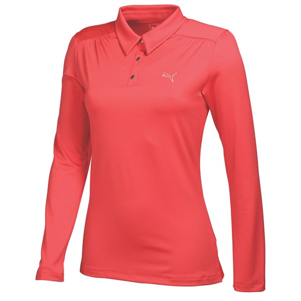 Puma  Ladies Long Sleeve Polo Shirt