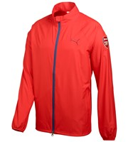 Puma Golf Mens Full Zip Limited Edition Arsenal Wind Jacket