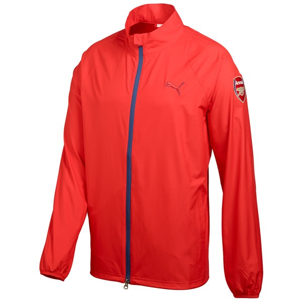 Puma Mens Full Zip Arsenal Wind Jacket - Limited Edition
