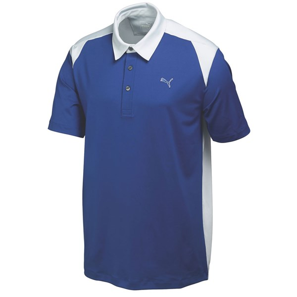Puma  Mens Blocked Polo Shirt
