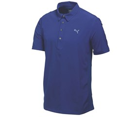 Puma Golf Mens Sport Woven Polo Shirt
