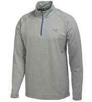 Puma Golf Mens Solid Quarter Zip Popover