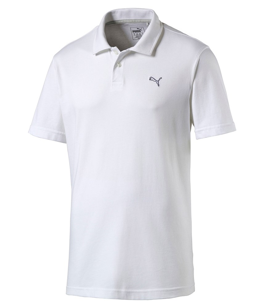 Puma golf mens cool touch polo shirt golfonline for Cool mens polo shirts