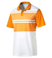 Puma Golf Mens PWRCOOL Pattern Block Polo Shirt