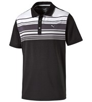 Puma Golf Mens Key Stripe Polo Shirt