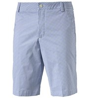 Puma Golf Mens Plaid Shorts