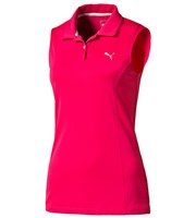Puma Golf Ladies Pounce Sleeveless Polo Shirt
