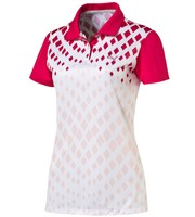 Puma Golf Ladies Diamond Graphic Polo Shirt
