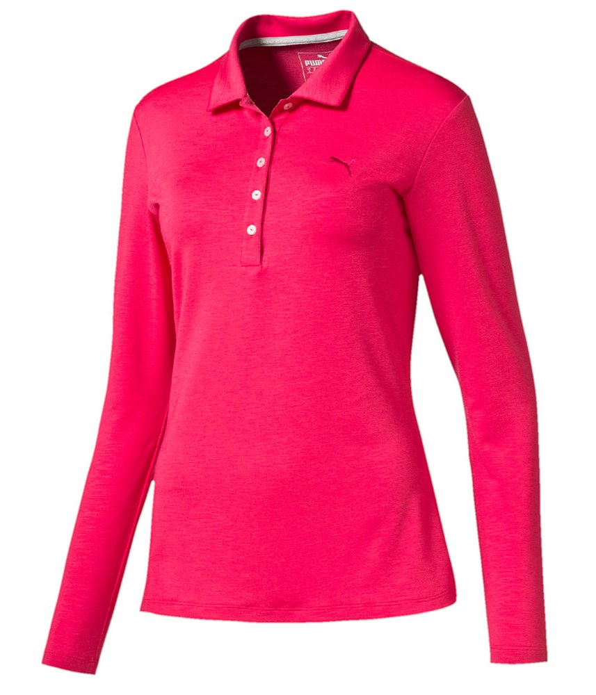Puma Golf Ladies Long Sleeve Polo Shirts Golfonline