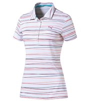 Puma Golf Ladies Roadmap Stripe Polo Shirt 2016