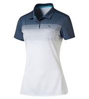 Puma Golf Ladies Colourblock Fade Polo Shirt