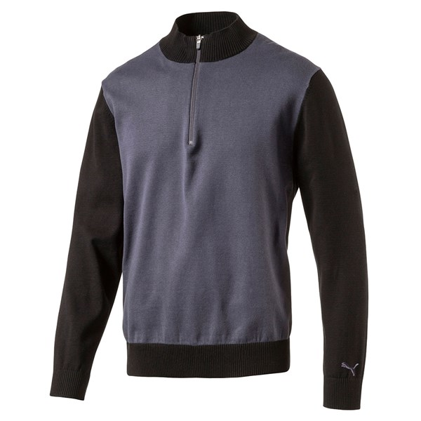 Puma Mens Tailored Zip Block Sweater