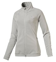 Puma Golf Ladies Fleece Track Jacket