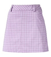 Puma Golf Ladies Plaid Skirt