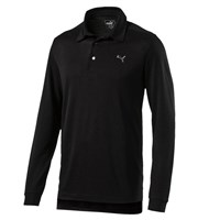 Puma Golf Mens Tailored Long Sleeve Polo Shirt