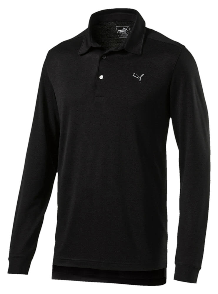 da54d7c63caa Puma Mens Tailored Long Sleeve Polo Shirt - Golfonline