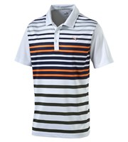 Puma Golf Mens Road Map Sports Style Polo Shirt