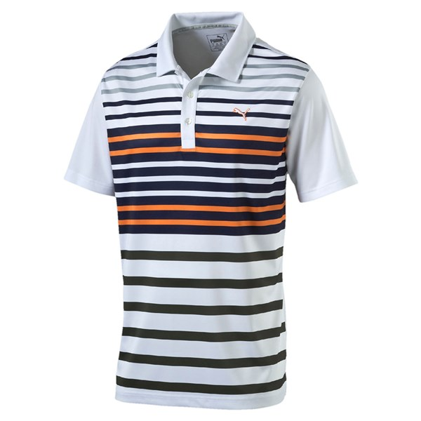 Puma  Mens Road Map Sports Style Polo Shirt