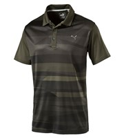 Puma Golf Mens Ice Stripe Polo Shirt